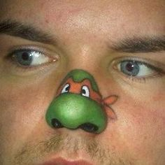 face painting ninja turtle, painting pictures, paint ideas, face paintings, body paintings