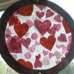 Preschool Valentine crafts.