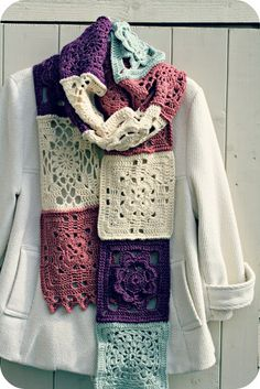 Beautiful scarf by Coco Rose Diaries..