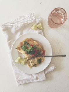 Creamy Chicken and Jalapeno Lasagna / Bev Cooks