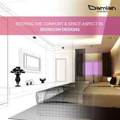 Our delightful bedroom #interiordesigns are made to provide optimum #comfort & #peace. Walk-in for a free consultation at our #Bandra office. Know more - www.damiancorporate.com