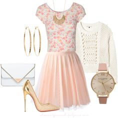 """""""Gold Accents"""" by sharon-grisnich on Polyvore"""