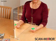 hand move, mirror mirror, mirror therapy