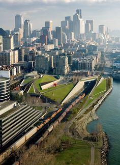 Olympic Sculpture Park. Architects: Weiss - Manfredi; location: Seattle, Stati Uniti; year: 2007