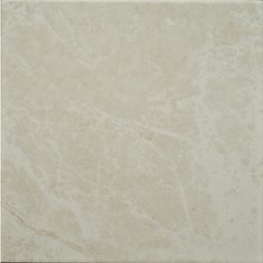 Zoomed: Style Selections 11-4/5-in x 11-4/5-in Clorinda Cream Glazed Porcelain Floor Tile