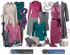 true summer, color chart, color analysi, true colour, wardrobe basics, capsule wardrobe, summer colour, outfit, summer colors
