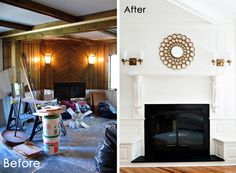 Before & After: A Fireplace Transformation