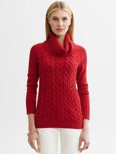loving Banana Republic's holiday sweaters!