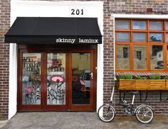 Skinnylaminx shop facade in Bree St Cape Town - must remember to drop in when next in S Africa