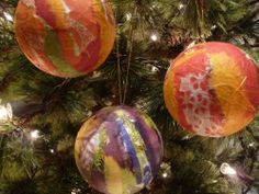 Japanese Paper Ornaments | ArtClubBlog