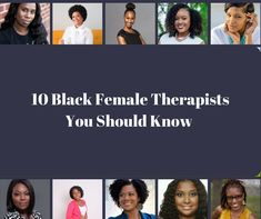 10 Black Female Therapists You Should Know | HuffPost