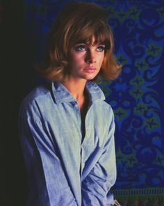 Jean Shrimpton by Ronald Falloon for The Sunday Telegraph, 1964.