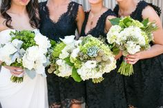 Bouquets with succulent details: http://www.stylemepretty.com/california-weddings/sonoma/2014/04/11/organic-wedding-in-sonoma/ | Photography: Larissa Cleveland - http://www.larissacleveland.com/