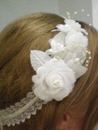 DIY Wedding - Hairband. - KIMAJOR's Purple Wedding by Color Blog