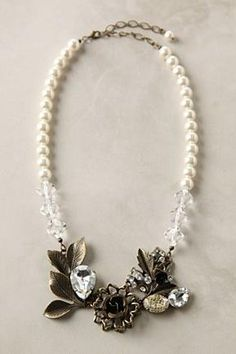 Anthropologie Winter Sparks Necklace, $48 Very Pretty #anthrofave #juvenilehalldesign