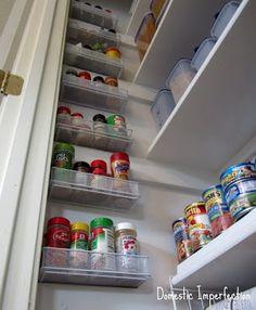 Extra pantry storage