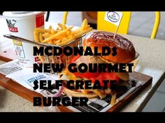 A review of the new mcdonalds Gourmet Burger Range, its...