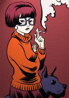 Rebel Velma by okchickadee