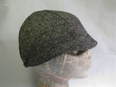 Donegal Tweed Cycling Cap by jbaileybrand on Etsy, $32.00