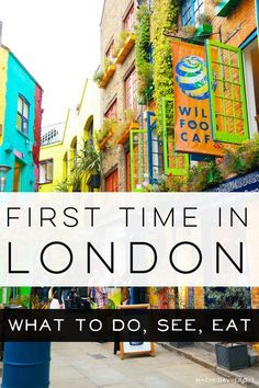 First time in London