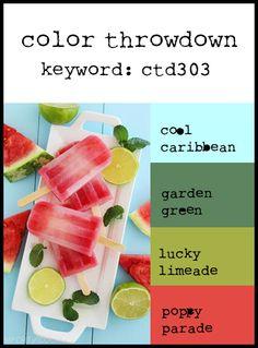 Color Throwdown: Color Throwdown #303
