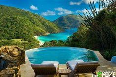 honeymoon, dream, pool, british virgin islands, the view