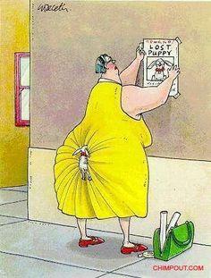 One of my favorite Gary Larsen cartoons.  Saw that sign going up last week  heehee