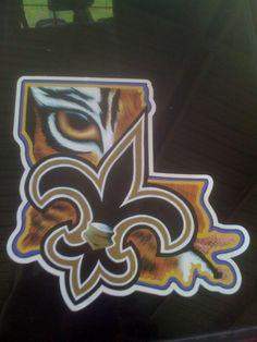 Geaux Saints and Tigers