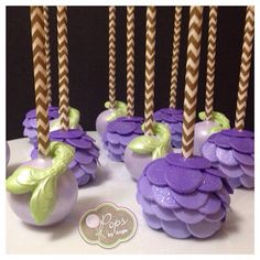 Mermaid Cake Pops