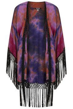 fringe kimono cardigan | hippie | boho | bohemian |