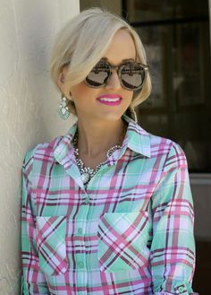 A Spoonful of Style: Spring Plaid...