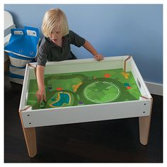 Modern activity table to keep the little ones entertained!