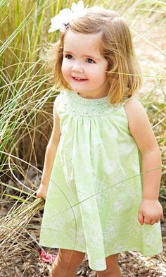 Too cute! #smockfusion #isabelscollection  #cute #dress #smocking #smock #kidsfashion