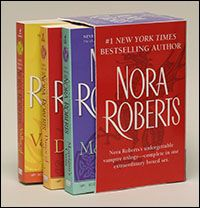 The Circle Trilogy by Nora Roberts. Set in Ireland with fantasy, magic, and celtic emphasis. Awesome action, love, and humor. One of my most favorite series <3