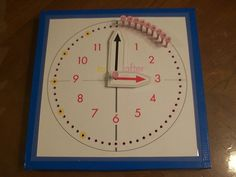 Montessori Golf Tee Clock by LivableLearning on Etsy