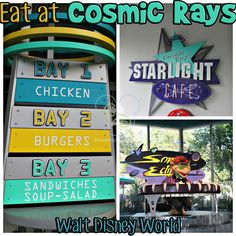 Cosmic Rays in Disney World's Magic Kingdom is one of my family's favorite quick service restaurants!