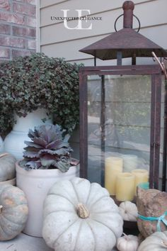 FALL is almost here!  Get some fun ideas for decorating your front porch!