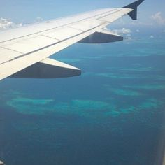The approach to Bermuda. July 17, 2012.