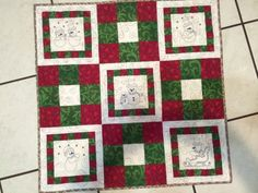 Gifty Galore Member Photo. Project 1 completed! Click through to keep track of all of this year's Gifty Galore quilt along projects. #GG14