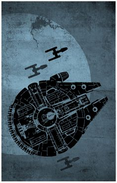 Millenium Falcon | By: Sana Sini, via Tiefighters