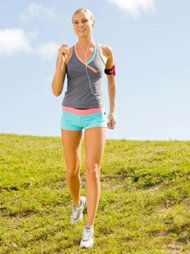 """Walk Off the Weight: A Speed-Interval Walking Workout-  """"Not a runner? No sweat. Start a walking routine instead. Researchers found that overweight women who did 45-minute speed-interval walking workouts and toning exercises four times a week lost 23 pounds in 16 weeks""""...."""