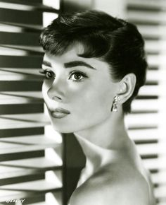 Audrey Hepburn for 'Sabrina', 1954.