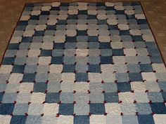 recycled jeans - quilt