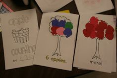 Apples! kindergarten appl, classroom idea, kindergarten unit, books, children, appl unit, apples, number sense, appl count
