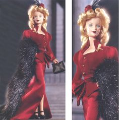 Fabulous Forties Barbie - 2000 (Great Fashions of 20th Century series)