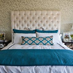 Teal Bedroom Design, Pictures, Remodel, Decor and Ideas