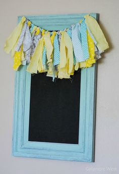 gallamore west: Up-Cycled Chalkboard with DecoArt paints