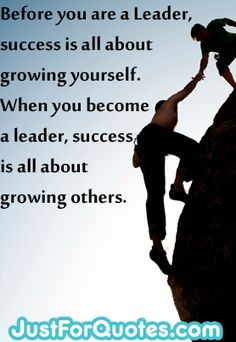 It goes to prove that bring a true leader means that they can #inspire  others to reach their full potential :)    #Leadership #quote