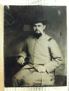 GEORGIA CAVALRY OFFICER: Lt. JOHN WESTBROOK