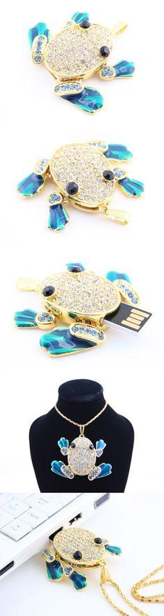 Jewel Frog USB Flash Drive  http://www.usbgeek.com/products/jewel-frog-drive